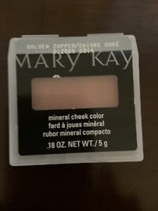 Mary Kay Mineral Cheek Color Golden Copper New!