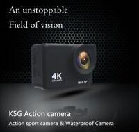 Outdoor Ultra HD 4K WiFi Action Camera Waterproof 30M Sports Camera