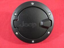 JEEP WRANGLER JK 4 Door Satin MATTE Black Fuel Filler Door NEW OEM MOPAR