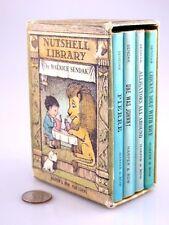 1962 NUTSHELL LIBRARY Miniature SET Children's Classics ALPHABET Slipcase