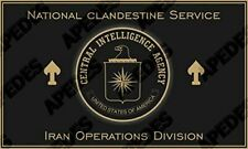 CIA NCS IOD Iran Operations Division Computer Tablet Decal Sticker 3x5 inches