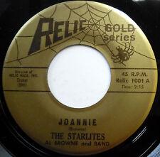THE STARLITES 45 Joannie / My Greatest Thrill VG++ Doo Wop ORIGINAL e6068