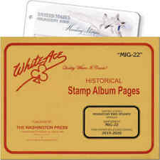 White Ace Stamp Album Supplement for U.S. Migratory Birds, 'MIG-22' (2019-2020)