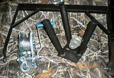 Deer Feeder Tripod Winch Header Bail for 55 Gallon Barrel Whitetail Turkey Game