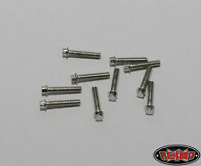 RC4WD Miniature Scale Hex Bolts (M2 x 10mm) (Silver) RC4Z-S0622