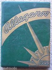 1949 HUTCHINSON HIGH SCHOOL YEARBOOK  HUTCHINSON, KANSAS -- ALLAGAROO
