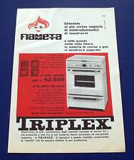 A619-Advertising Pubblicità-1960-FIAMMETTA TRIPLEX - STUFE