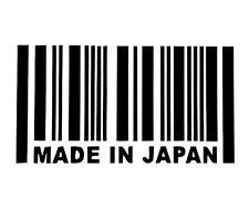 MADE IN JAPAN DECAL STICKER 14 COLORS JDM HONDA MAZDA TOYOTA CAR TRUCK SUV EURO