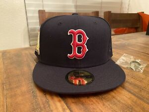 Boston Red Sox 1999 All Star Game Yote Pack Infrared UV New Era Fitted Hat 7 3/4