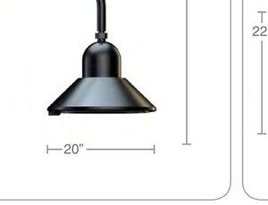 Street Lamp Pendant Head / Industrial grade ~ Park Restaurant Wall/Pole Light