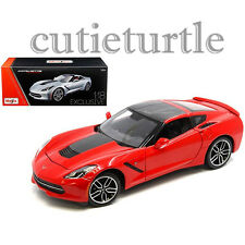 Maisto 2014 Chevrolet Corvette C7 Stingray Z51 1:18 Exclusive ED. 38132 Red