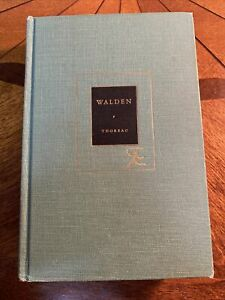 Walden And Other Writings Of Henry David Thoreau Modern Library Hardcover 1950