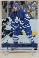 Ben Ondrus Young Guns 2006-07 Upper Deck YG Rookie RC Toronto Maple Leafs
