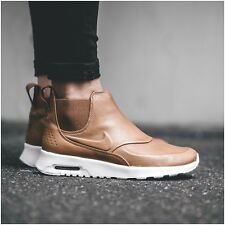 Nike Air Max Thea Mid Boot Leather Brown Sail UK Size 3.5 EU 36.5 859550 200