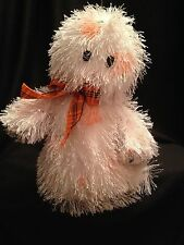 Ty Shriekers Punkies Ghost Hairy Halloween Decoration Plush Stuffed Pumpkin 2005
