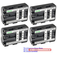 Kastar Replacement Battery for Sony NP-FM500H & Sony DSLR-A850 ¦Á850 Alpha A850