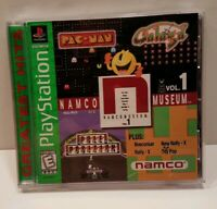 Namco Museum Vol. 1 (Sony PlayStation 1, 1995) FREE FAST SHIPPING COMPLETE