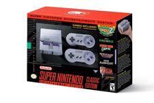 Super Nintendo Entertainment System SNES Classic Edition Mini Preloaded 21 Games
