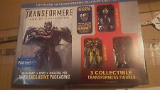 Transformers 4 Age of Extinction Exclusive BluRay+DVD Exclusive 3 Figures+Magnet