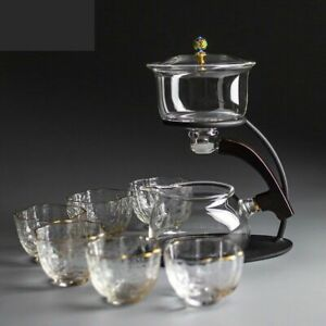 Glass Teapot Set Personalized Semi Automatic Household Magnetic Brewing Tea Sets