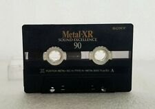 SONY METAL-XR 90 AUDIO CASSETTE TAPE Type IV USED