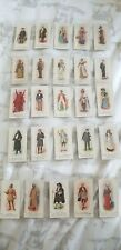 PLAYERS. cigarette cards. Past and Present. Full set of 25. In sleeves.