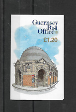 GUERNSEY 1989 Fish Market £1.20 Stamp Booklet - SB 40