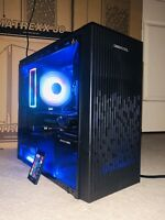 i5 4th gen gaming PC computer - Tempered Glass Tower!