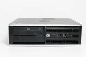 HP Elite 8000 SFF PC Intel Core2Duo E7500 2.93GHz 4GB 250GB HDD DVD-RW WIN 10