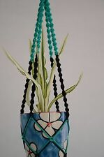 Pack of 5 handmade Macrame plant hanger hanging planter 36 inches