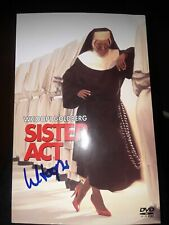 WHOOPI GOLDBERG EGOT MOVIE & TV ICON SIGNED AUTOGRAPHED SISTER ACT DVD INSERT