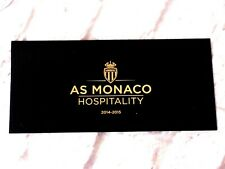 Porte Place Ticket asm AS MONACO FC Hospitality 2014 / 2015 foot ultras