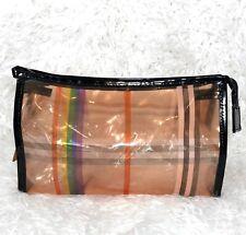 Clear Waterproof Cosmetic PVC Organizer Zip Travel Makeup Bag Pouch Kit