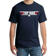 Top Dad T-shirt Top Gun Awesome Dad Fathers Day Gift tops