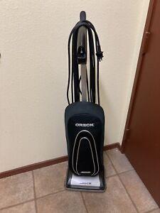 ORECK Graphite Vacuum Cleaner black EXCELLENT works w/ paperwork