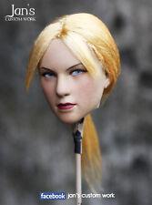 1/6 Hot CUSTOM REPAINT REHAIR toys Jill Resident Evil figure head kumik phicen