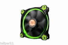 Thermaltake Riing 12 120mm High Static Pressure  Fan with Green LEDS