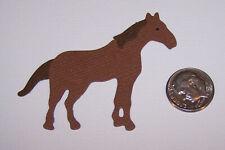 3 Horses Premade PAPER Die Cuts / Scrapbook & Card Making