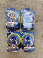 """**NEW MINT** Sonic the Hedgehog Bendable action figure 2.5"""" Wave 1 Jakks Pacific"""