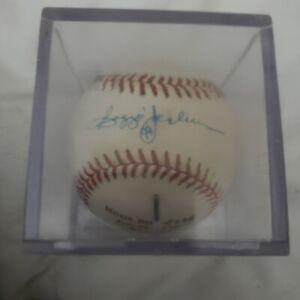 Reggie Jackson autographed Homerun ball  #138 Thrown by Nolan Ryan