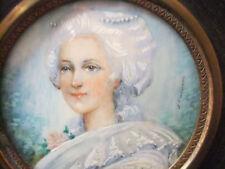 Ritratto in Miniatura Presunto di Mrs di Lamballe