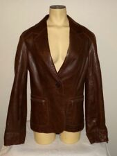 MARC NEW YORK Brown Leather Jacket - Large - EUC