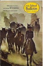 national geographic-SCHOOL BULLETIN-feb 2,1970-WYOMING.
