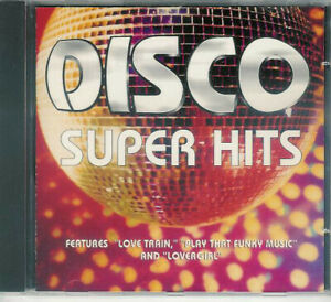 MINT Original CD Various ‎– Disco - Super Hits 1998 Play That Funky Music