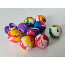 Flummi Ball Flummis 25mm Bouncing Springball Gummi Hüpf Spielzeug Mitgebsel