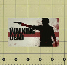 CUSTOM MADE REFRIGERATOR MAGNET THE WALKING DEAD RICK SILHOUETTE