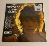 David Bowie / Blue Vinyl LP / The World of David Bowie / Mint RSD 2019
