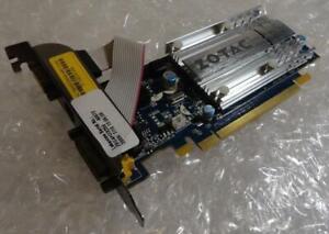 256MB ZOTAC GeForce 7200GS 188-05N01-00FZT PCI-e DVI VGA Graphics Card