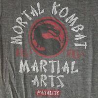 Mortal Kombat Men's Small Sleeveless T-Shirt MMA Licensed Video Game Merch