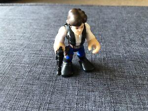 Star Wars Galactic Heroes Han Solo Imaginext Action Figure